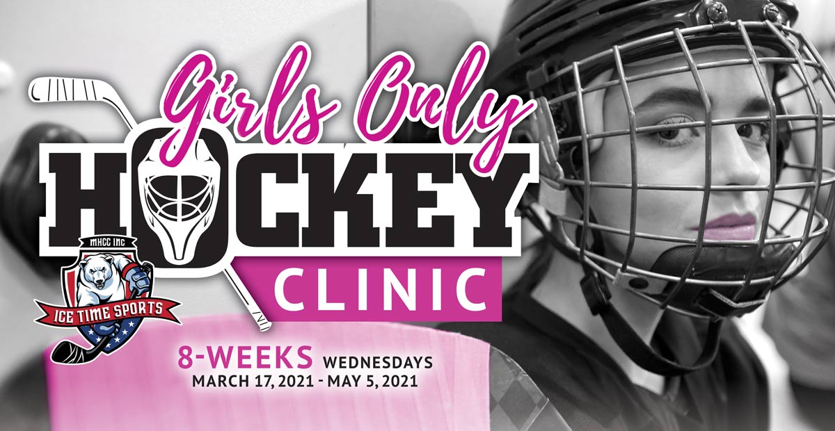 Girls Only Hockey Clinic – March 17 – May 5