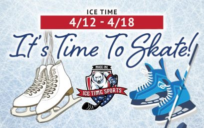 It's Time To Skate and Pre-Evaluation Prep Clinic Times! Week 4/12 – 4/18