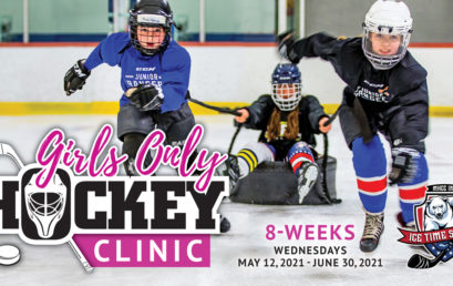 Girls Only Hockey Clinic – Session #2 – May 12 – June 30