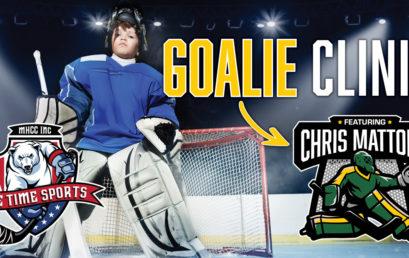 Goalie Clinic Featuring Chris Mattone