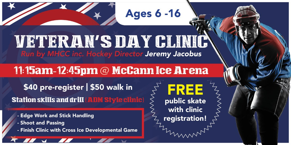 Veterans Day Clinic – Nov 11th