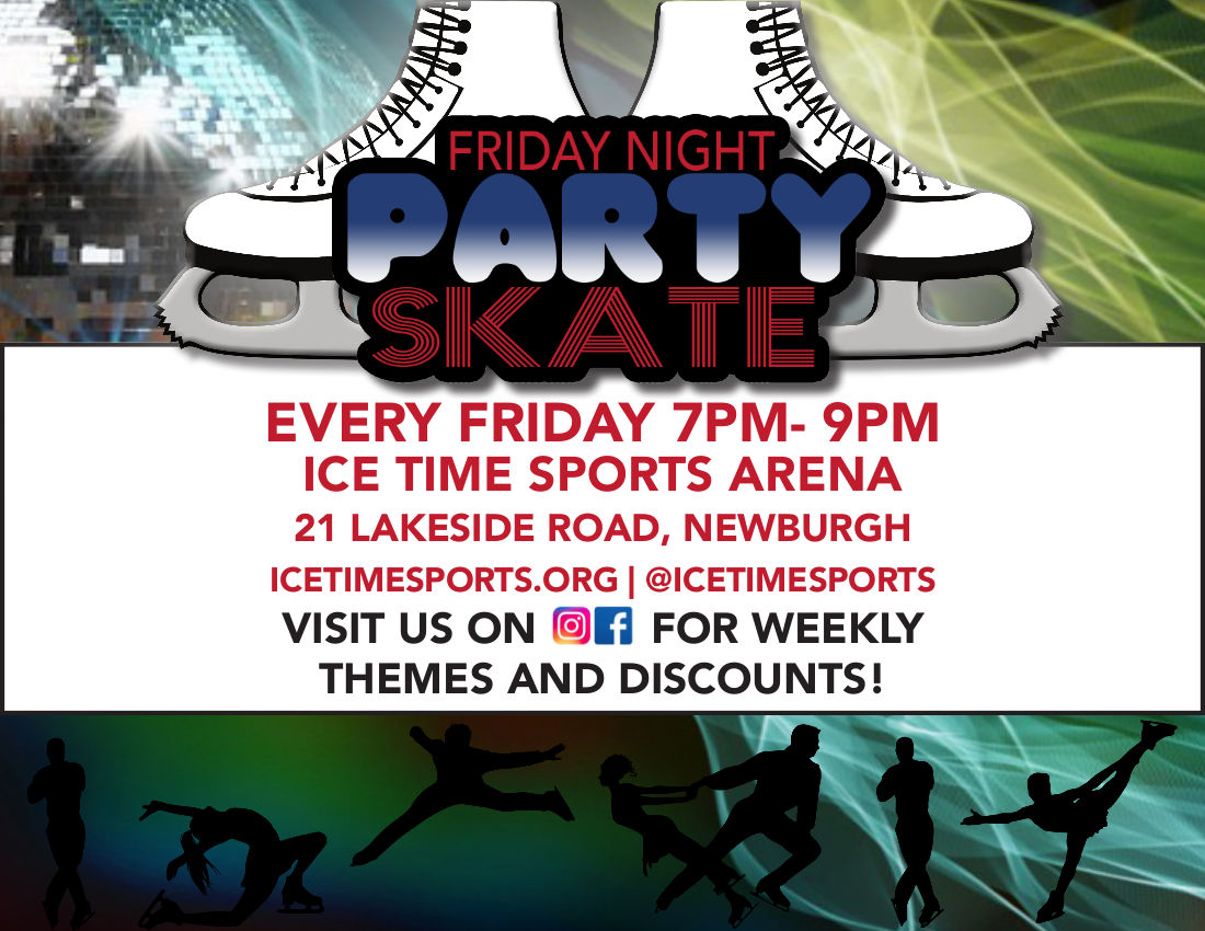 Friday Night Party Skate @ Ice Time Sports Complex