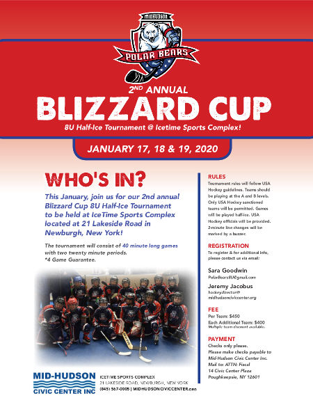 2020 Blizzard Cup flyer