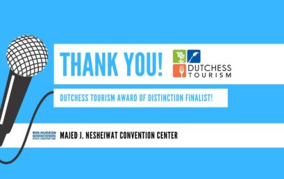 We are a Dutchess Tourism Award of Distinction Finalist!