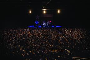 Concert crowd, Poughkeepsie