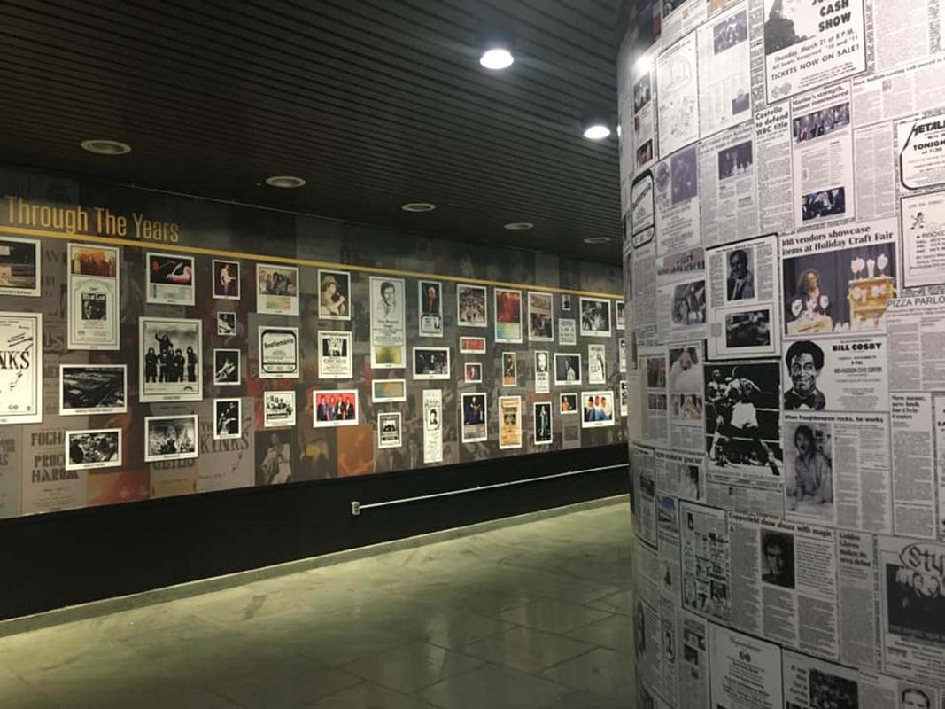 MHCC history Mural