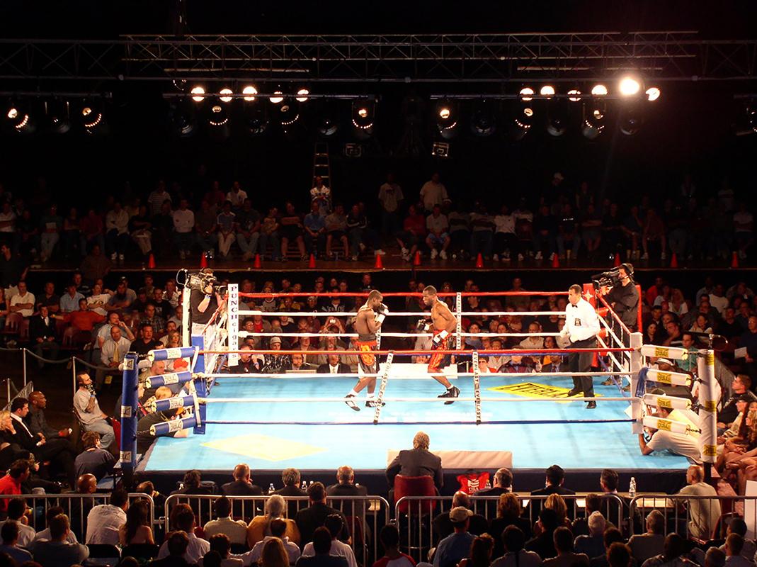 wrestling ring set up