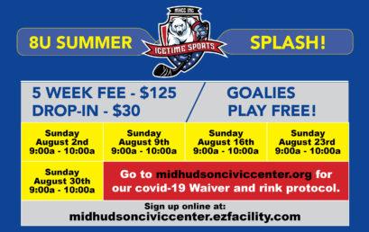 8U Summer Splash Cross-Ice Hockey