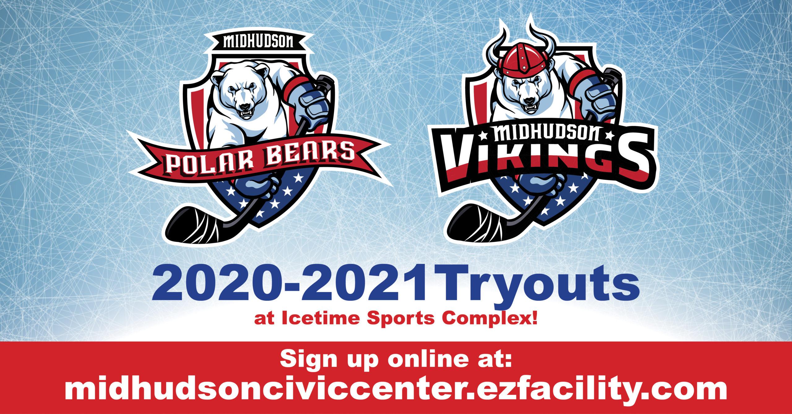 Polar Bears and Vikings Hockey Tryouts