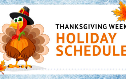 Ice Time Sports Thanksgiving Week Hours