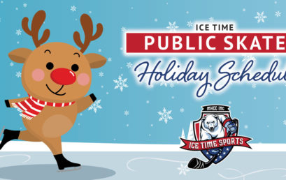 Ice Time Public Skate Holiday Schedule