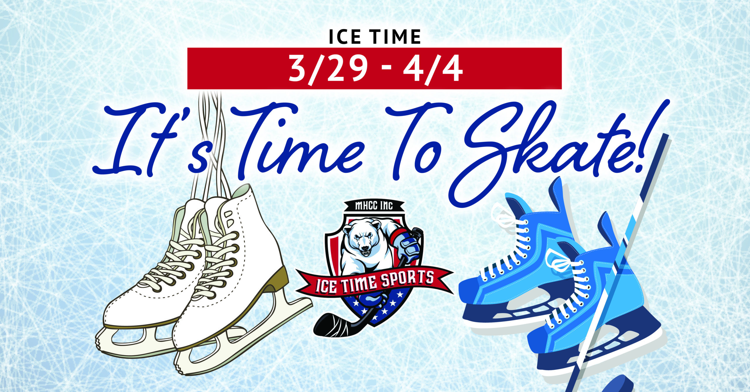 It's Time To Skate! Weekend 3/29 – 4/4
